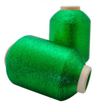 Fio Metalizado Lurex Verde (cone de 50Grs)