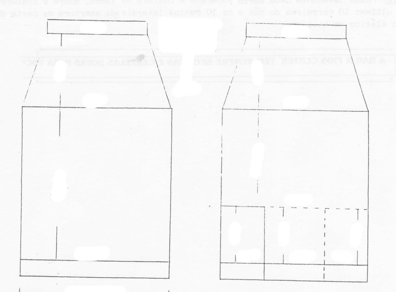 Receita de Tricô a Máquina - Nº 135 - Saia Justa c/Abertura Dupla na Frente Tam. 42 / 44