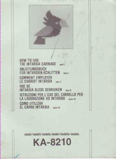Manual Carro Intarsia Elgin em Espanhol