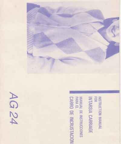 Manual Intarsia Silver em Espanhol AG24