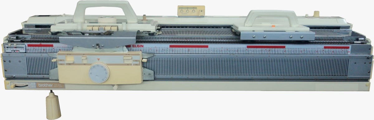 Máquina de tricô Elgin 840 + Pente (frontura) Elgin