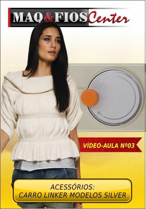 DVD aula Carro Linker ( Arrematador ) Silver/Singer