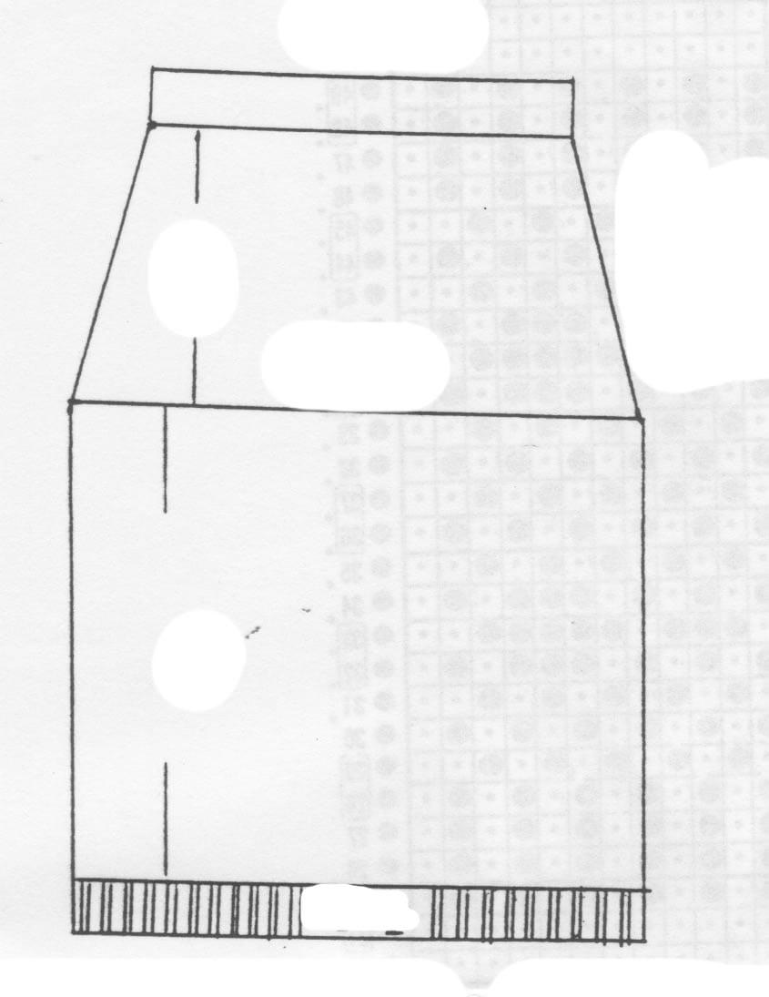 Receita de Tricô a Máquina - Nº 178 - Mini-Saia em Ponto Jacquard Tam. 40 / 42