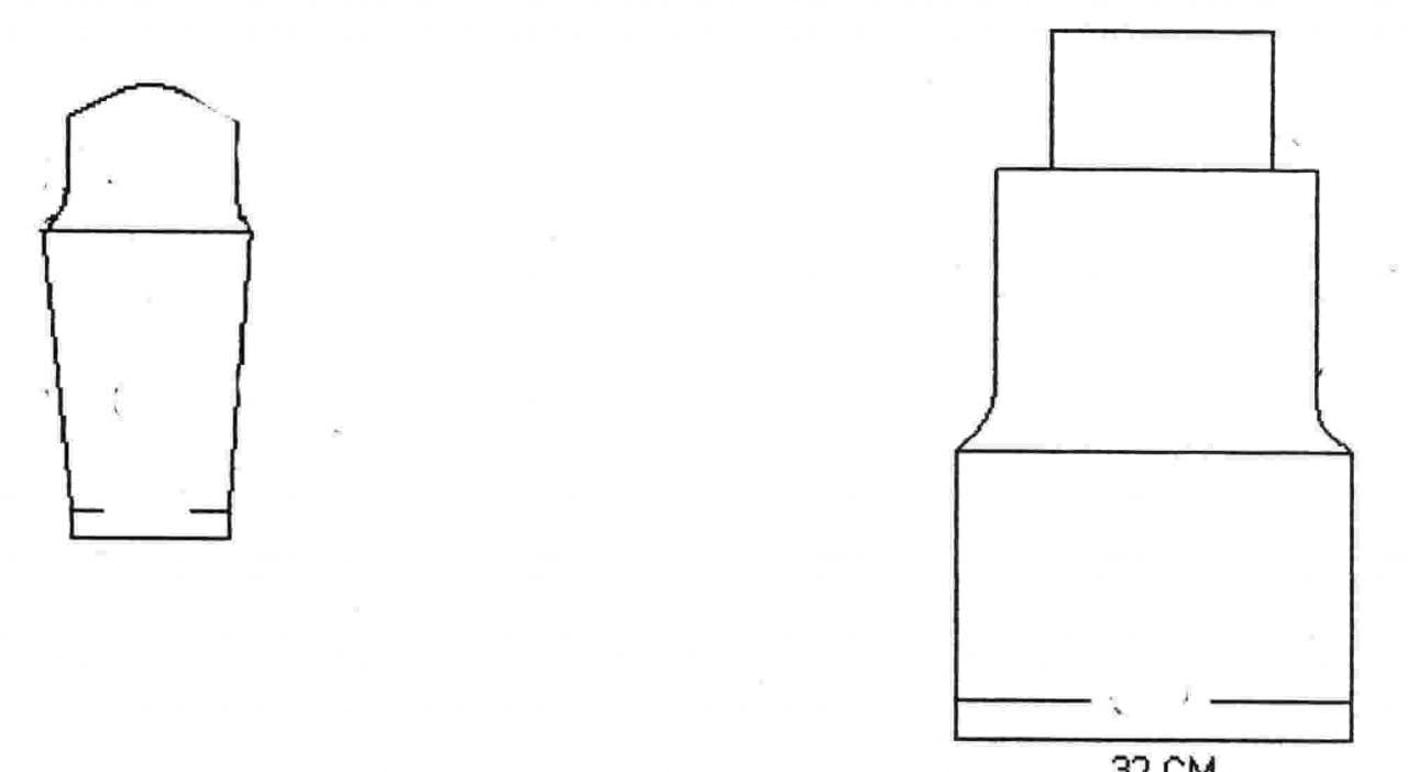Receita de Tricô a Máquina - Nº 224 - Blusa Cacharrel p/ Máquina 155