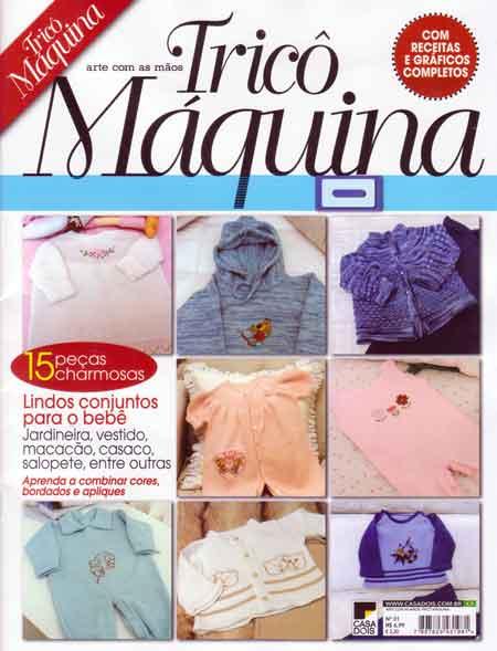 Revista Tricô a Máquina Nº 01 Ed. Casa Dois