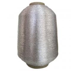 Fio Lurex Prata (importado) cone de 50 grs