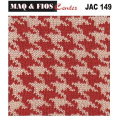 Cartela Perfurada Jacquard - JAC 149 - Elgin, Silver, Singer