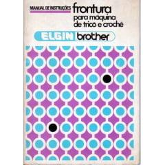 Manual Frontura (pente) Elgin mod 587 em Português