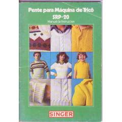 Manual Pente (frontura) Singer SRP 20 Portugues