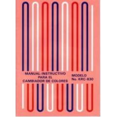 Manual Trocador de Cores Elgin mod 830 em Espanhol