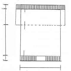Receita de Tricô a Máquina - Nº 30 - Blusa com Cava Reta decote redondo tam. 40 a 42