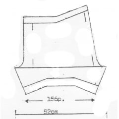 Receita de Tricô a Máquina - Nº 46 - Short em Ponto Meia Tam. 42